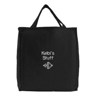 Personal Stuff Embroidered Bag