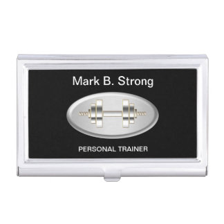 Personal Trainer Business Card Case