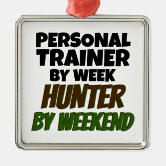 Personal Trainer by Week Hunter by Weekend Christmas Ornament