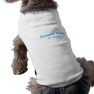 Personal Trainer Dog Walking Top Sleeveless Dog Shirt