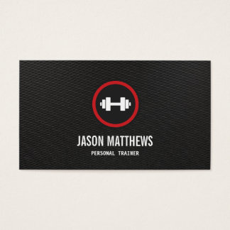 Personal Trainer Dumbbell Logo Fitness Instructor