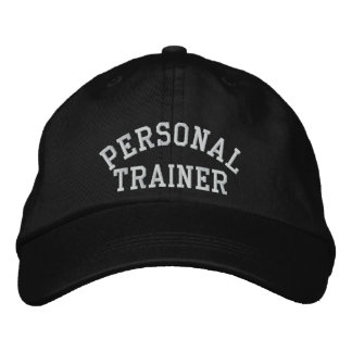 Personal Trainer Embroidered Hats