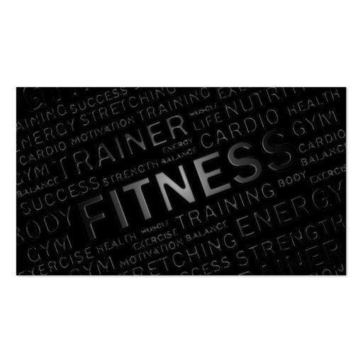 Create your own fitness trainer business cards personal trainer fitness business card colourmoves