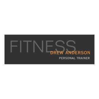 Personal Trainer Modern Elegant Business Card