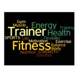 Personal Trainer or Fitness Centre Post Card