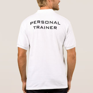 Personal Trainer Polo T-shirt