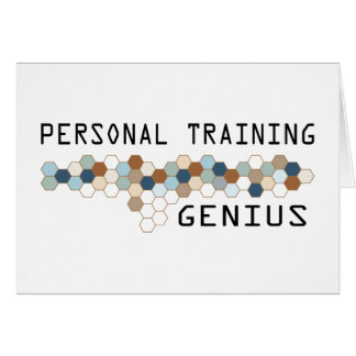 Personal Training Genius Card