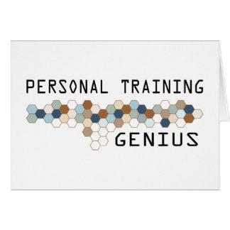 Personal Training Genius Greeting Card