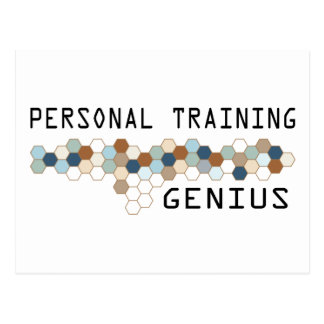 Personal Training Genius Postcard