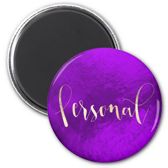 Personal Weekly Planner Purple Champaign Plum Gold 6