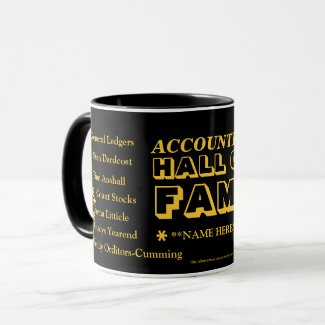 Personalisable Accountant Celebration / Exam Pass Coffee Mug