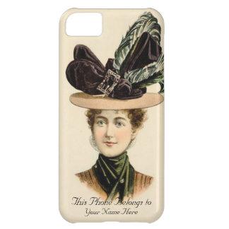 Personalise1900 Ladies Fashion Hat iPhone 5 Case