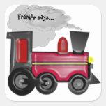 Personalise A 3D Train Sticker