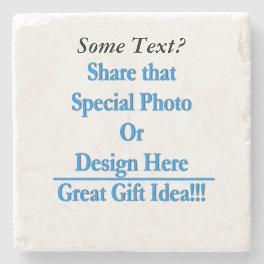 (Personalise) Add a personal touch. Black Text Stone