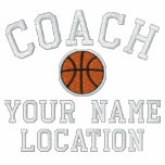 Personalise Basketball Coach Your Name Your Game! Polo