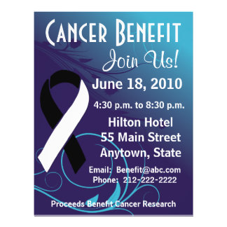 Personalise Benefit  - Carcinoid Cancer Flyer