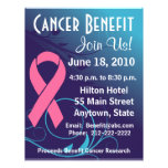Personalise Cancer Benefit  - Breast Cancer Flyer