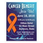 Personalise Cancer Benefit  - Leukaemia Flyer