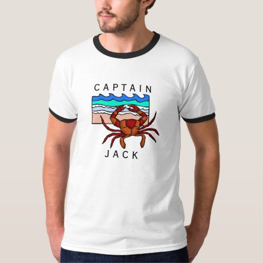 Personalise Captains T-Shirt