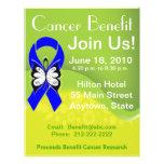 Personalise Colon Cancer Fundraising Benefit 21.5 Cm X 28 Cm Flyer