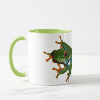Personalise Costa Rica Red Eyed Frog Mug