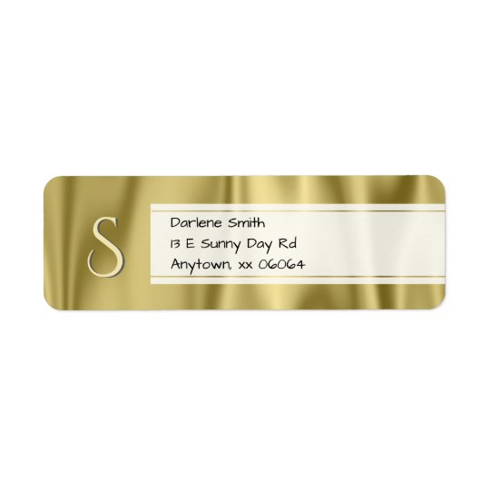 Personalise:  Faux Gold Satin Fabric Texture