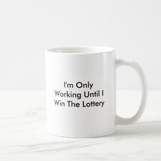 Personalise Funny Winning Lotto Mug