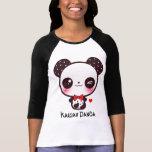 Personalise Kawaii panda Tshirt