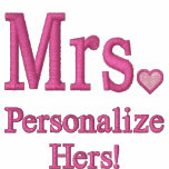 Personalise Mr & Mrs Embroidery Embroidered Gear Embroidered Jacket