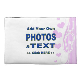 personalise photos text add images customise make travel accessories bags
