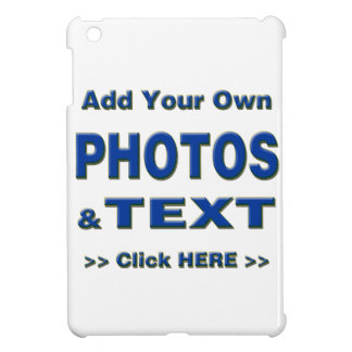 personalise photos text add images customise make iPad mini cases
