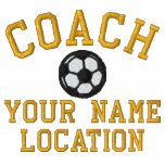 Personalise Soccer Coach Your Name Your Game! Embroidered Jackets