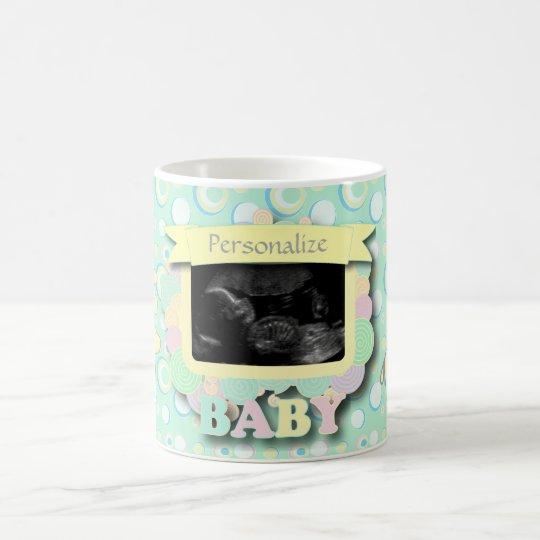 Personalise Sonogram Baby Keepsake Coffee Mug