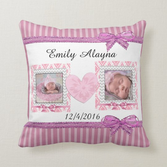Personalise this Gorgeous Baby Photo Pillow