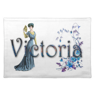 Personalise `Victoria' design Placemat