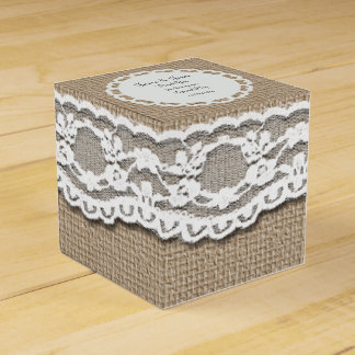 Personalise Wedding Favour Box