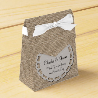 Personalise Wedding or Party Favour Tent Box