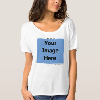 Personalise, Your Rescue's Photo, Light T-shirt