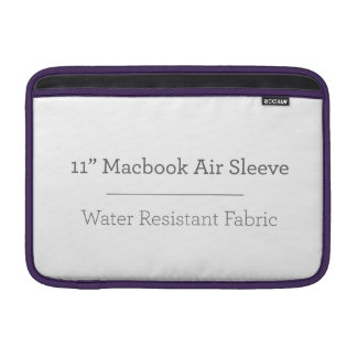 Personalised 11in Macbook Air Sleeve