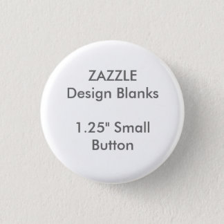 """Personalised 1.25"""" Small Round Button Pin Template"""