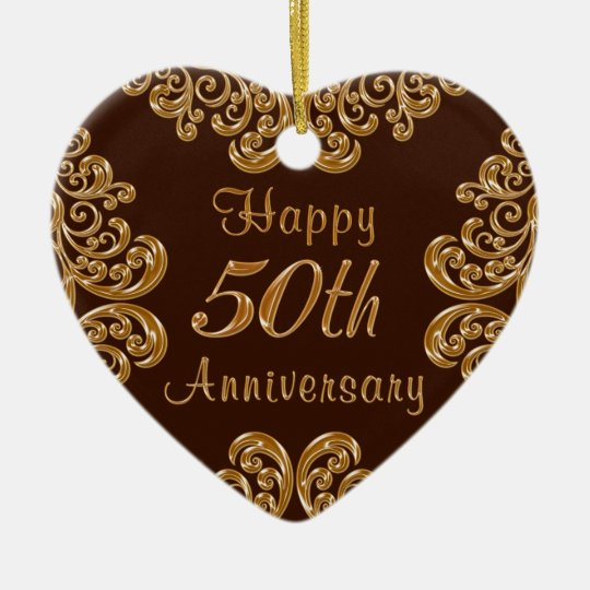 Personalised 50th Anniversary Gifts for Couples Christmas