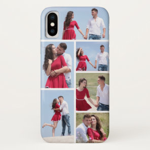 Personalised 6 Photo Collage Case-Mate iPhone Case