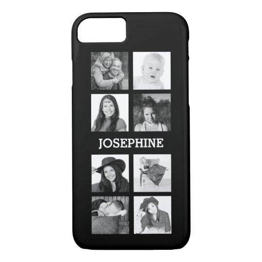 Personalised 8 Instagram Photo Grid iPhone 8/7 Case