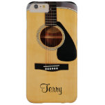 Personalised Acoustic Guitar  iPhone 6 Plus Case Barely There iPhone 6 Plus Case