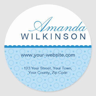 Personalised Address Stickers