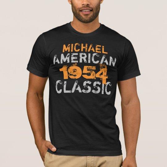 Personalised American Classic Birthday T-Shirt