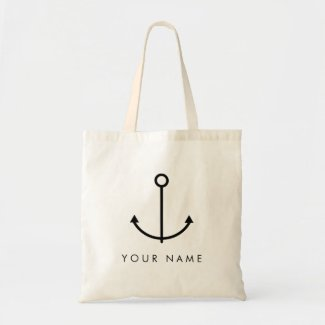 Personalised Anchor Tote Bag
