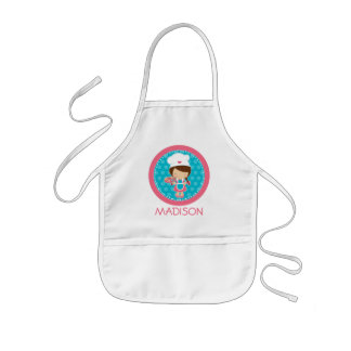 Personalised Apron - Little Baker Party Favours