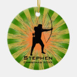 Personalised Archery Ornament