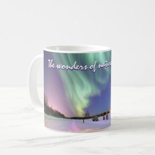 Personalised Aurora Borealis Northern Lights Coffee Mug